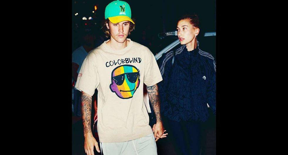 Justin Bieber tuvo antes un romance con Selena Gómez. Hailey Baldwin este año había sido vinculada a Shawn Mendes. (Foto: Instagram)
