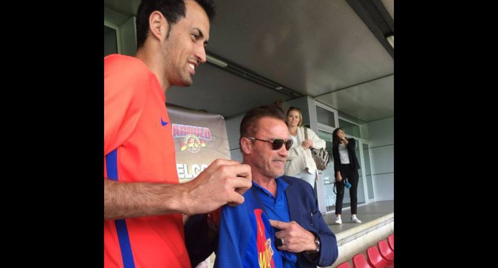 Facebook: Arnold Schwarzenegger conoció a Neymar [FOTOS] - 3