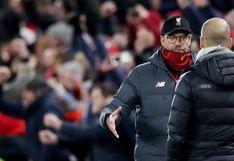 """Jürgen Klopp sobre sanción al Manchester City: """"Para ser sincero, no creo que los impulse a mejorar"""""""
