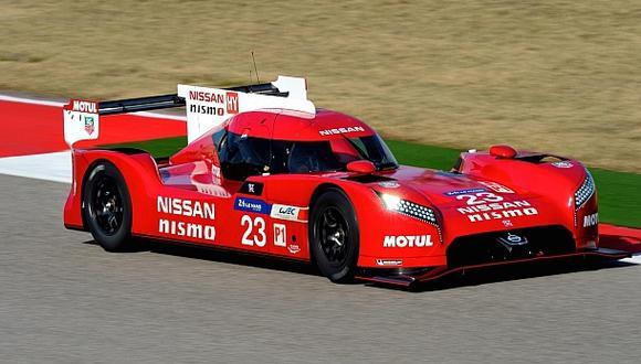 Nissan presentó el GT-R para las 24 Horas de Le Mans