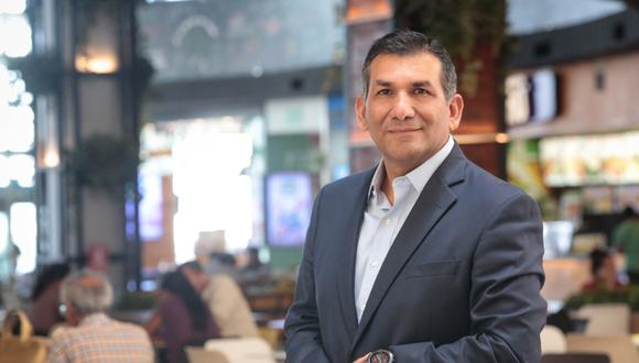 Javier Postigo, gerente general de Mall Aventura.
