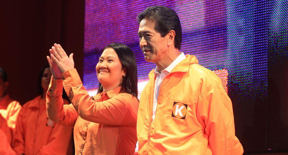 Keiko Fujimori y Jaime Yoshiyama participan en una actividad previa a la campaña electoral del 2011. La imagen es de archivo. (Foto: El Comercio).