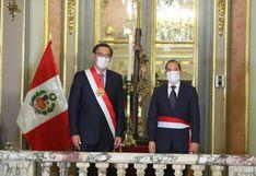 Walter Martos juró como nuevo primer ministro en medio de crisis