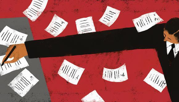 """""""Los contratos-ley no son una creación de la Constitución de 1993. Existen con otro nombre desde, por lo menos, 1950"""" (Ilustración: Víctor Aguilar Rúa)."""
