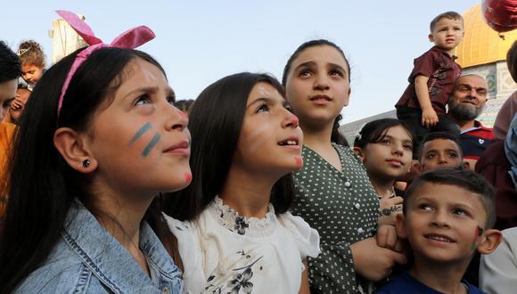Niños en Jerusalén. (Foto: Reuters)