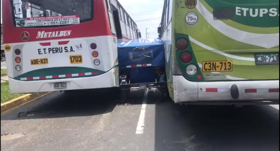 El video que verá en este reportaje, grabado en San Martín de Porres, fue enviado por un lector de El Comercio. La campaña #NoTePases realizó una 'deconstrucción' para analizarlo y dar a conocer qué hay detrás de la negligencia en el transporte público del Perú.