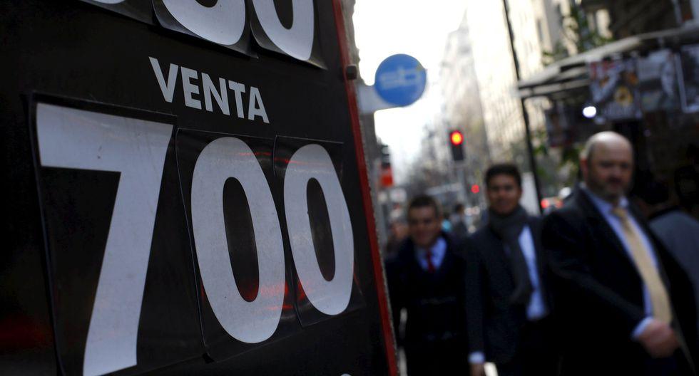 El banco central de Chile anunció ayer que intervendría en el mercado cambiario. (Foto: Reuters)