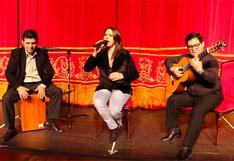 """Fabiola de la Cuba en una sesión en vivo para """"El Comercio"""""""
