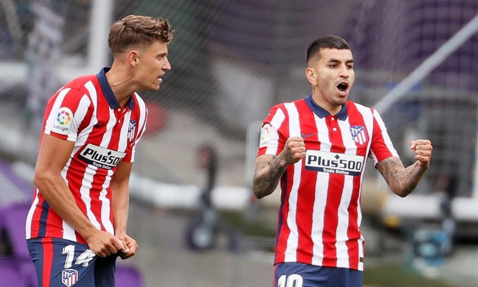 Atlético de Madrid y Real Madrid pelearon por el título de LaLiga en la última jornada | Foto: EFE