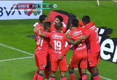 Cruz Azul vs. Puebla: Bryan Angulo definió al segundo poste y logró el 1-1 en la Liga MX Apertura 2021   VIDEO