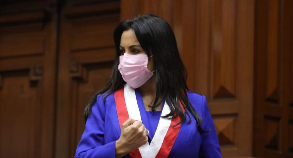 La congresista Patricia Chirinos denunció que fue agredida verbalmente por el presidente del Consejo de Ministros, Guido Bellido (Foto: Facebook)