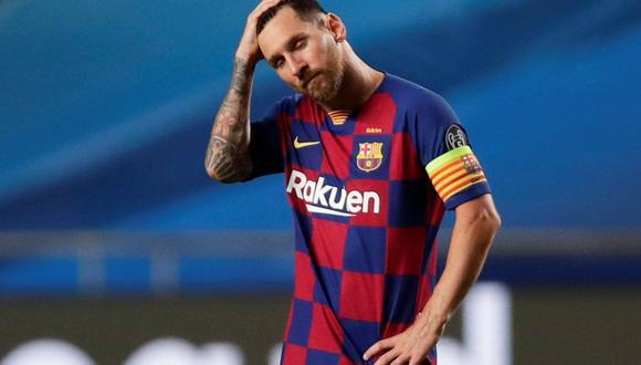 Lionel Messi podría recibir sanciones si no asiste a los primeros entrenamientos de Barcelona para la nueva temporada   Foto: REUTERS
