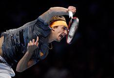 Alexander Zverev venció a Rafael Nadal por la fase de grupos del ATP Finals 2019