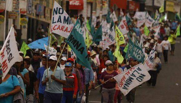 Tía María: Yamila Osorio reporta arengas violentas en conflicto