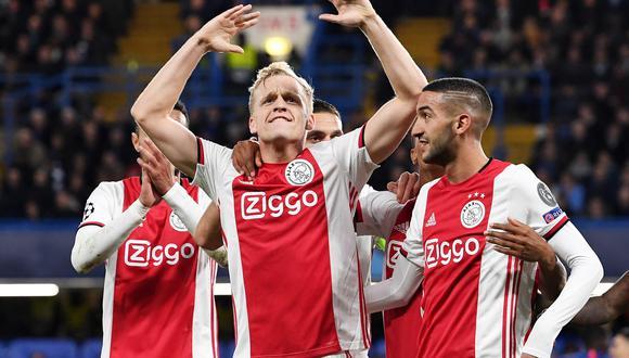 Donny van de Beek es uno de los grandes candidatos a dejar el Ajax la siguiente temporada. (Foto: EFE)