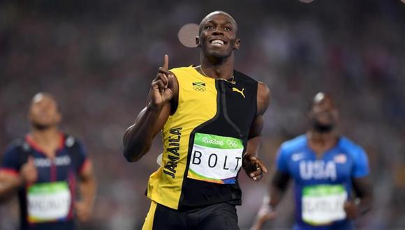 Se confirmó la llegada de Usain Bolt al Perú.  El hombre más rápido de la historia pisará suela peruano por primera vez. (Foto: AP).