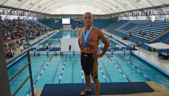 En el torneo que se disputa en Corea del Sur, nuestro compatriota ganó la medalla de plata en la modalidad 3 km de aguas abiertas