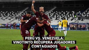 Perú vs. Venezuela: jugadores venezolanos se recuperaron del COVID-19 y ya entrenan con su selección