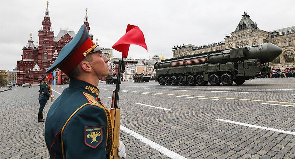 Rusia: El desfile por el Día de la Victoria contra los nazis - 7