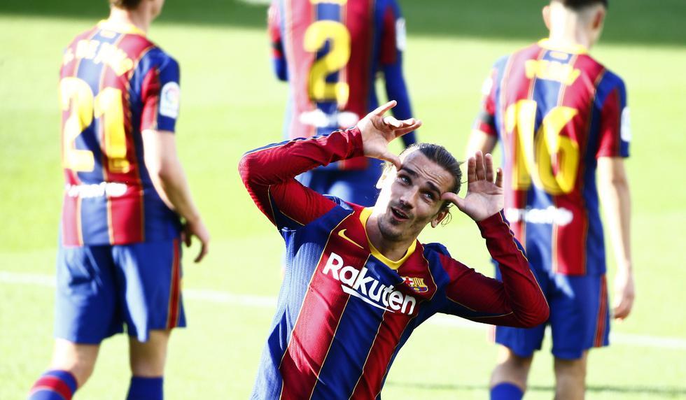 Antoine Griezmann anotó el 2-0 en el Barcelona vs. Osasuna | Foto: AP