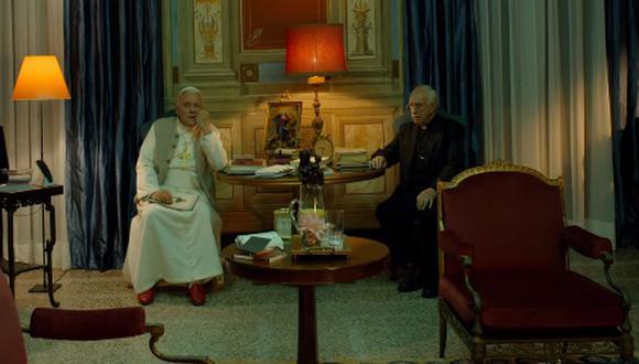 """Netflix lanza tráiler y anuncia la fecha de estreno de """"Los Dos Papas"""", la película sobre Francisco y Benedicto XVI. (Foto: Captura de video)"""