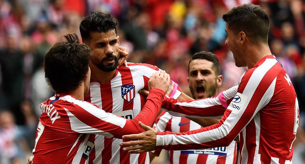 Atlético de Madrid vs. Valencia: mejores imágenes del partido. (Foto: AFP)