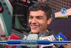 """Carlos Beltrán tras jugada individual que terminó en el gol íntimo: """"Hice la de Ronaldinho"""""""