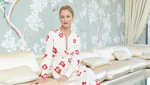 Carolyn Murphy ha participado en más de 100 campañas de Estée Lauder, tanto para productos de cuidado de la piel, como maquillaje y fragancias, convirtiéndola en un ícono de la marca. (Foto: Estée Lauder)