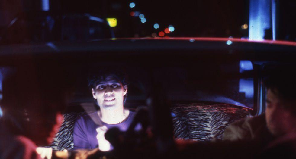 """Pedro Suárez Vértiz, durante las grabaciones del videoclip de """"Me estoy enamorando"""". (Foto: Germán Ballesteros - El Comercio)"""