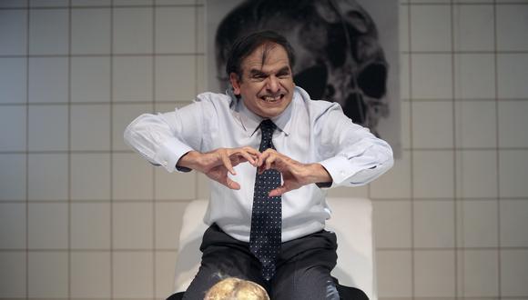 El director venezolano Héctor Manrique se basó en Ricardo III para desarrollar su versión teatral del asesino Edmundo Chirinos. El monólogo al que dio forma tiene casi una hora y media de duración. (Foto: difusión)