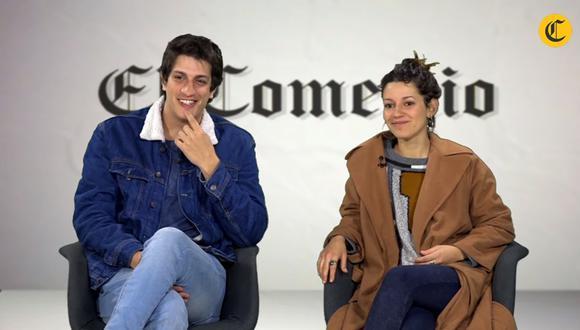 Stefano Tosso y Vania Accinelli. (Foto: Captura)