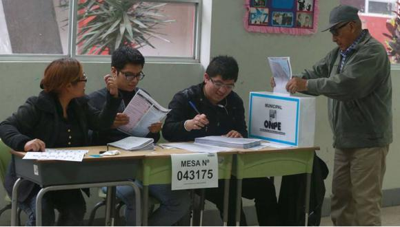 Los miembros de mesa cumplirán una extensa labor en medio de una pandemia en las elecciones generales del 2021 | Foto: GEC