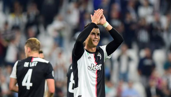 Juventus, con gol de Cristiano Ronaldo, venció al Bayer Leverkusen y suma 4 puntos en el grupo D de la Champions League. (Foto: REUTERS/Massimo Pinca)