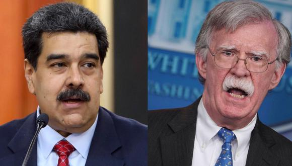 Bolton advierte a Nicolás Maduro