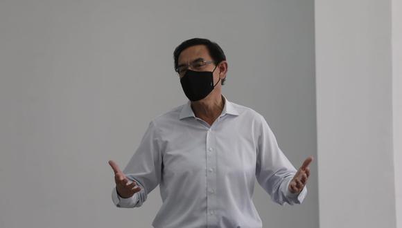 El último jueves la Comisión Permanente aprobó el informe final de la acusación constitucional contra Martín Vizcarra | Foto: El Comercio