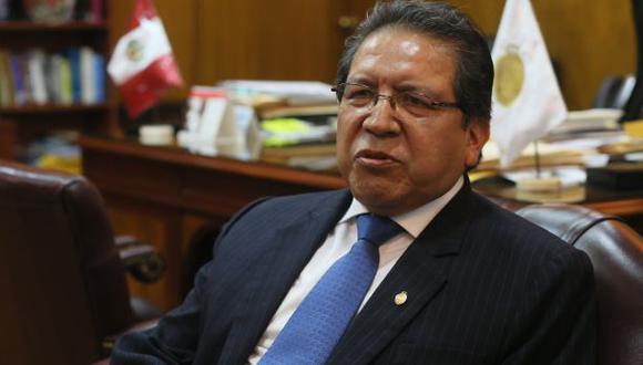 Pablo Sánchez advierte que no hay dinero para pagar a fiscales