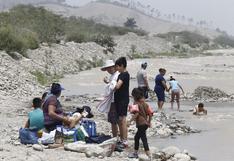 Manchay: familias acuden al río Lurín ante restricciones de playas por coronavirus | FOTOS