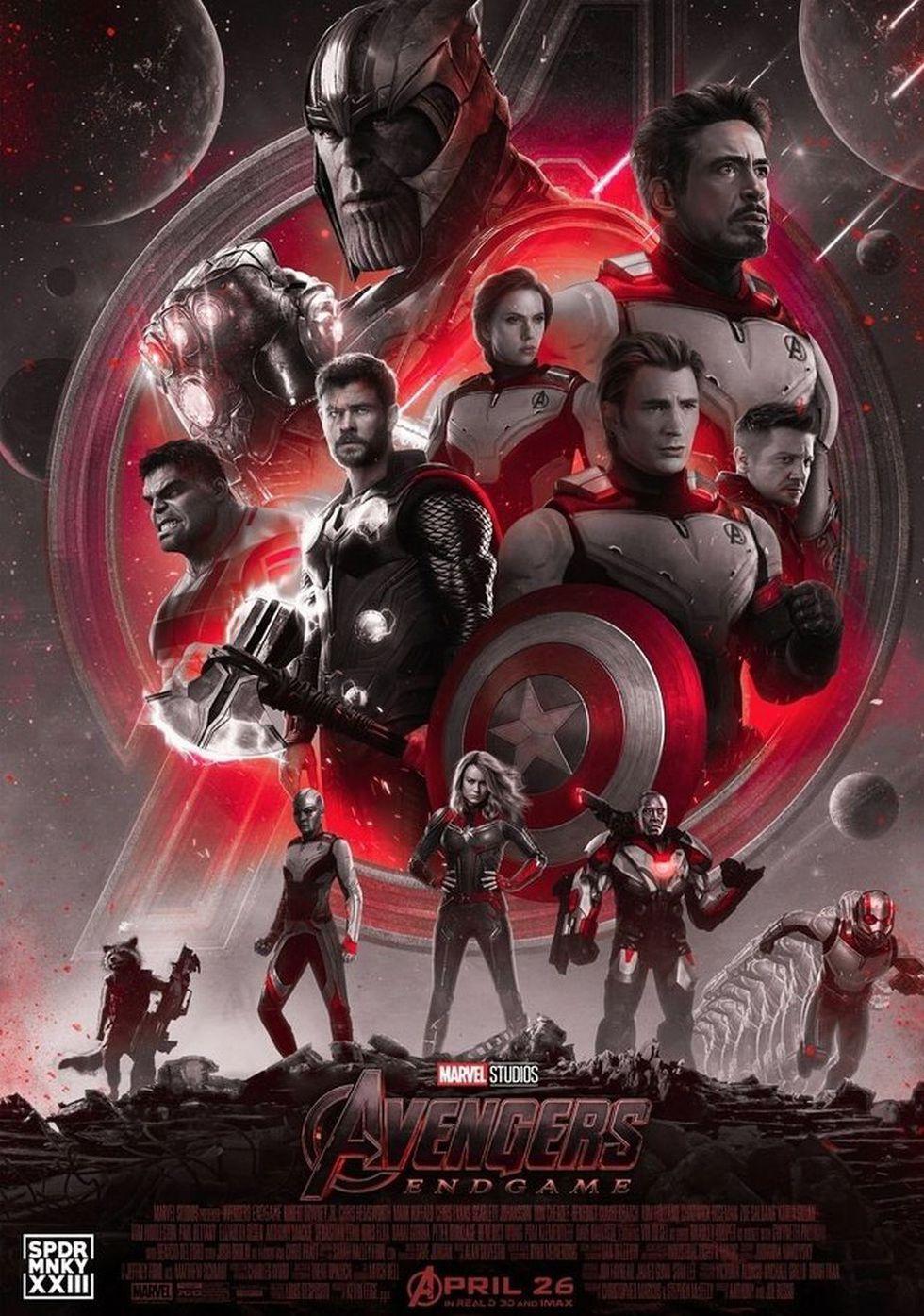 Fan art de los Avengers con sus trajes para ingresar al Reino Cuántico -al menos algunos de ellos (Foto: Instagram / spdrmnkyxxiii)