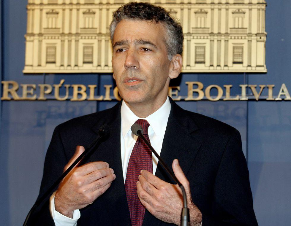 Philip Goldberg fue embajador de Estados Unidos en Bolivia del 2006 al 2008. Morales lo expulsó acusándolo de conspirar contra el país. [AFP]