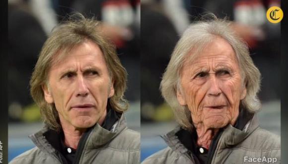 Así es como funciona FaceApp. En este caso Tom Ellis (Lucifer) joven a la izquierda y viejo a la derecha. | FaceApp