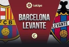 Canales para ver Barcelona vs. Levante en vivo: guía de TV y horarios en el mundo