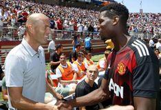 Paul Pogba y Zinedine Zidane fueron captados juntos en Dubai