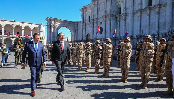 Vizcarra también recordó que la lucha contra la corrupción constituye un compromiso a asumir por todos los peruanos, al tratarse de uno de los peores males del país, pues afecta el desarrollo. (Foto: Presidencia)