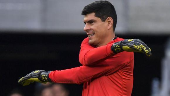 Carlos Lampe es habitual convocado a la Selección de Bolivia. (Foto: AFP)