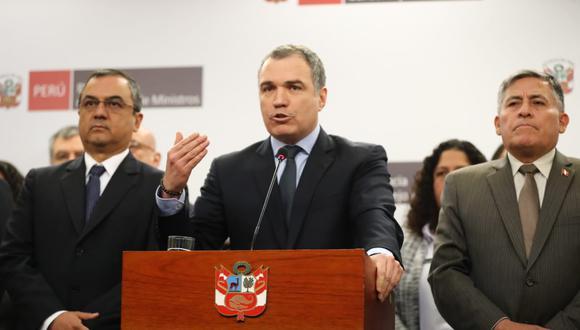 Salvador del Solar aseguró que el gobierno tomará acciones de acuerdo a la Constitución. (Foto: Giancarlo Ávila / GEC)