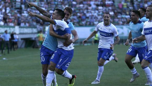 Universidad Católica se impuso por 2-1 en condición de visitante ante Temuco y consiguió hacerse con el título nacional de la Liga de Chile (Foto: agencias)