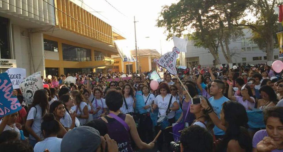#NiUnaMenos: las movilizaciones en el interior del país [FOTOS] - 32
