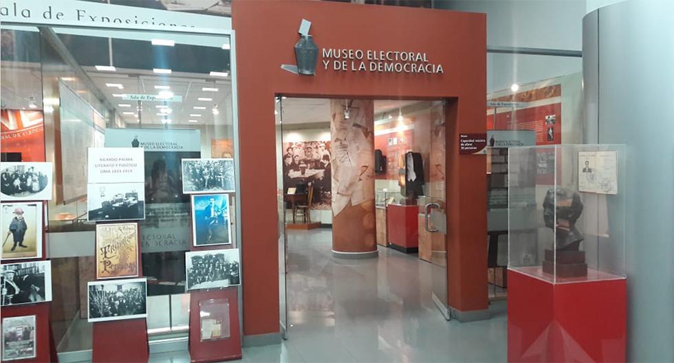 El Museo Electoral y de la Democracia se encuentra dentro del local del Jurado Nacional de Elecciones, en el Centro de Lima. (Foto: El Comercio)