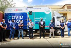 Huánuco: anuncian la llegada de laboratorio móvil Covid Maskaq para procesar pruebas moleculares