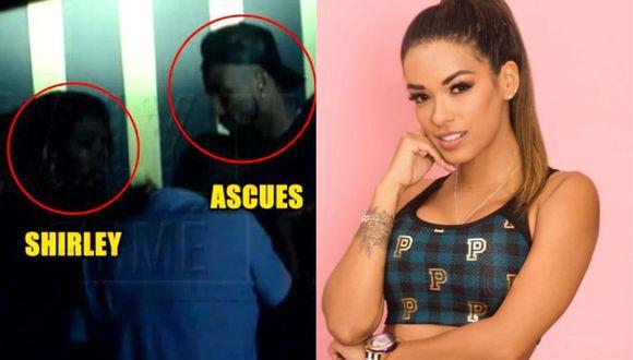 """Shirley Arica fue captada con Jean Deza y Carlos Ascues por las cámaras de """"Magaly TV: la firme"""". (Foto: ATV/Instagram)"""